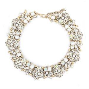 Fashion beautiful white crystal necklace